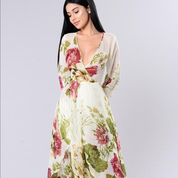 9a35a69d3d5 New Plus Size Rose Garden Wrap Maxi Dress Size 1X